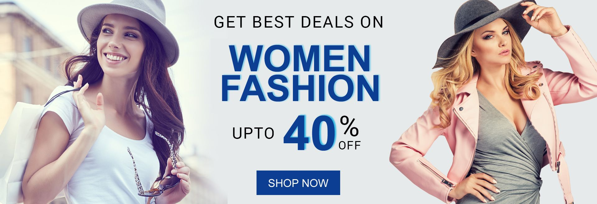 best deal on women fashion banner
