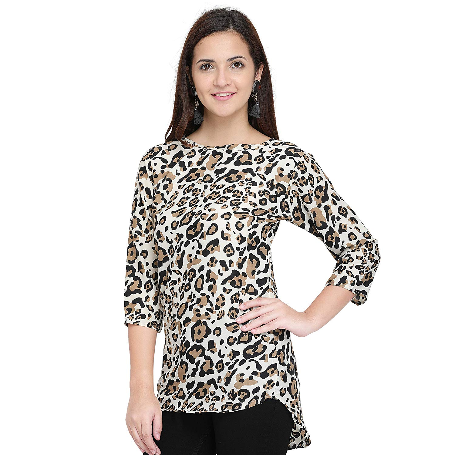 b5d70a46f2e72a ... Creap Top For Daily wear Stylish Casual and Western Wear Women/Girls Top.  By Online Retail Market
